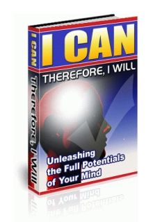 I Can, Therefore I Will (PLR)